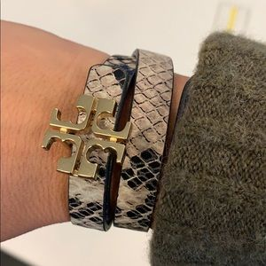 Tory Burch Wrap Bracelet - reversible